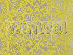 Ткани Black Edition - Byzantine Flock Wallcovering Chartreuse W364/04 Black Edition