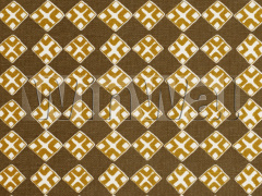 Ткани Bradley - Kiya Ochre on Ecru Fabric Bradley