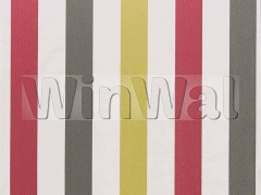 Ткани Camengo - NARIVA RAINBOW FANCY/WHITE Camengo