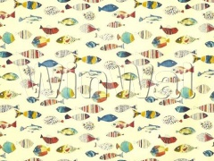 Ткани Prestigious Textiles - Gone Fishing  Tropical - 5030/522 Prestigious Textiles