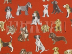 Ткани Prestigious Textiles - Hot Dog  Red - 5905/300 Prestigious Textiles