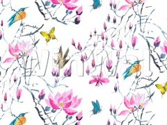 Ткани Designers Guild - MADAME BUTTERFLY - PEONY F1903/01 Designers Guild