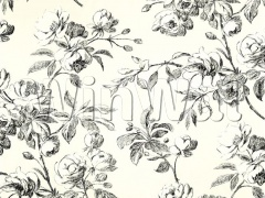 Ткани Designers Guild - WATELET - BLACK AND WHITE F1685/05 Designers Guild