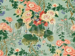 Ткани Lee Jofa - ALTHEA PRINT CELADON 879004.LJ Lee Jofa