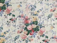 Ткани Lee Jofa - FLORAL BOUQUET WHITE 889300.LJ Lee Jofa