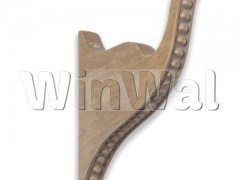 Beaded Bracket-Antique Oak HDW20012.616